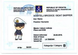 Bootsführerschein kroatisches Küstenpatent