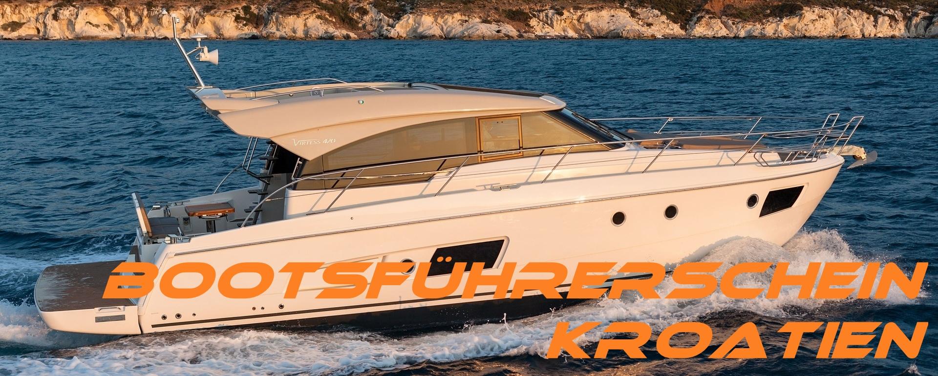 kroatisches Küstenpatent Tisno Bootsführerschein Tisno machen